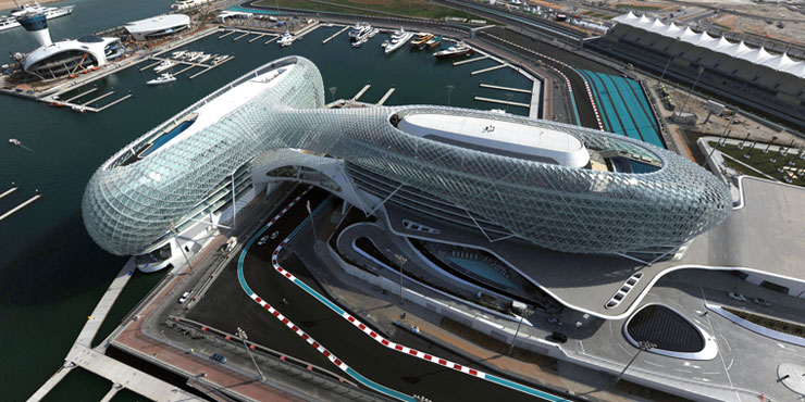 F1 Race Track on Yas Island